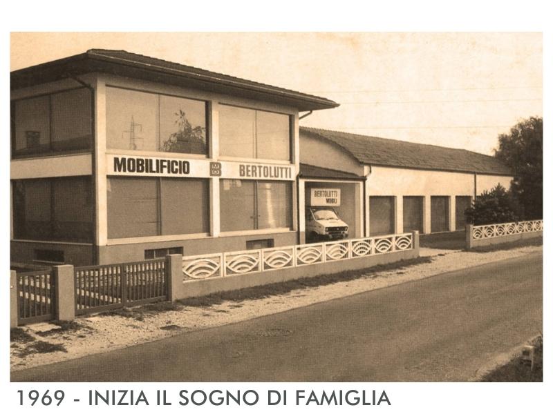 1969 - MOBILIFICIO BERTOLUTTI